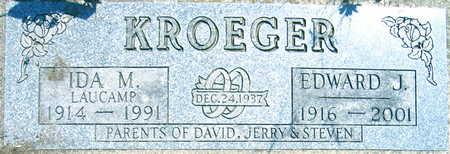 KROEGER, IDA M. - Linn County, Iowa | IDA M. KROEGER