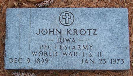 KROTZ, JOHN - Linn County, Iowa | JOHN KROTZ