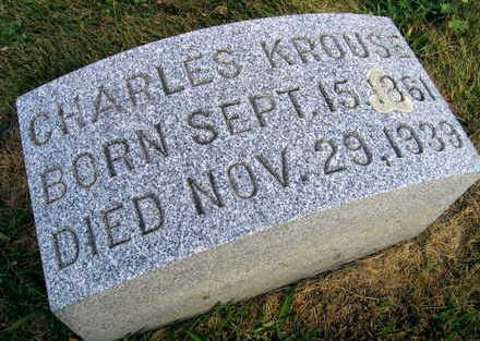 KROUSE, CHARLES - Linn County, Iowa | CHARLES KROUSE