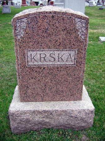 KRSKA, FAMILY STONE - Linn County, Iowa | FAMILY STONE KRSKA