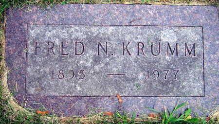 KRUMM, FRED N. - Linn County, Iowa | FRED N. KRUMM