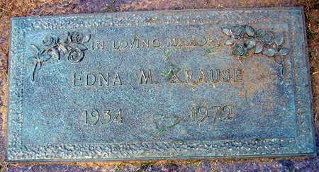 KRUSE, EDNA M. - Linn County, Iowa | EDNA M. KRUSE