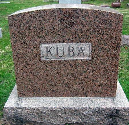 KUBA, FAMILY STONE - Linn County, Iowa   FAMILY STONE KUBA