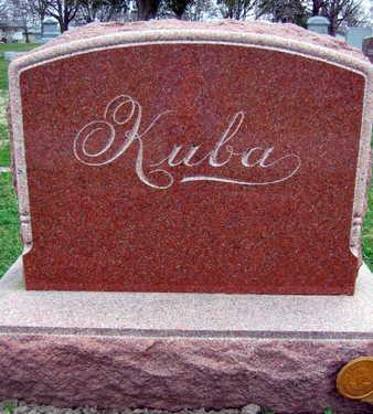 KUBA, FAMILY STONE - Linn County, Iowa | FAMILY STONE KUBA