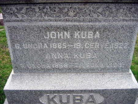 KUBA, ANNA - Linn County, Iowa | ANNA KUBA