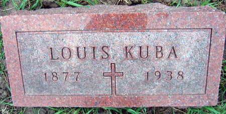 KUBA, LOUIS - Linn County, Iowa | LOUIS KUBA