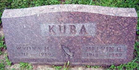 KUBA, MELVIN G. - Linn County, Iowa | MELVIN G. KUBA