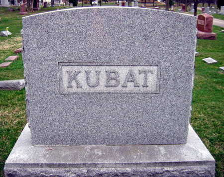 KUBAT, FAMILY STONE - Linn County, Iowa | FAMILY STONE KUBAT
