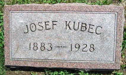 KUBEC, JOSEF - Linn County, Iowa | JOSEF KUBEC
