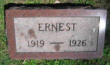 KUBICEK, ERNEST - Linn County, Iowa | ERNEST KUBICEK