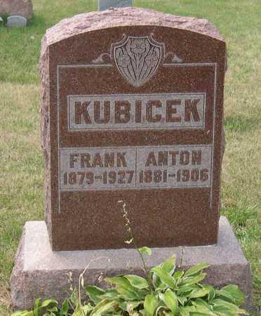 KUBICEK, FRANK - Linn County, Iowa | FRANK KUBICEK