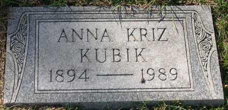 KUBIK, ANNA - Linn County, Iowa | ANNA KUBIK