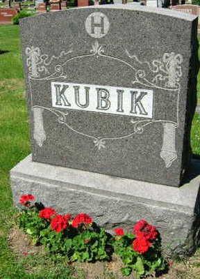 KUBIK, FAMILY STONE - Linn County, Iowa   FAMILY STONE KUBIK