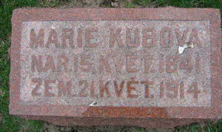 KUBOVA, MARIE - Linn County, Iowa | MARIE KUBOVA