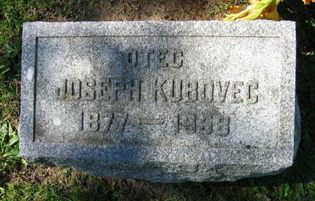 KUBOVEC, JOSEPH - Linn County, Iowa | JOSEPH KUBOVEC