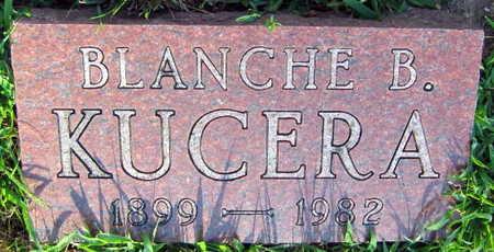 KUCERA, BLANCHE B. - Linn County, Iowa | BLANCHE B. KUCERA