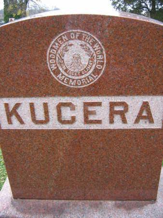 KUCERA, FAMILY STONE - Linn County, Iowa   FAMILY STONE KUCERA