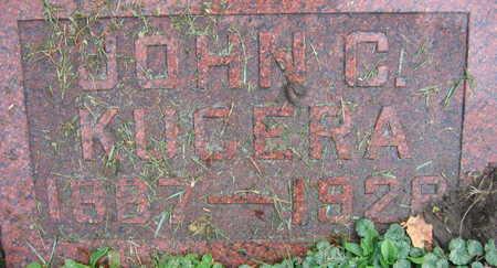 KUCERA, JOHN C. - Linn County, Iowa   JOHN C. KUCERA