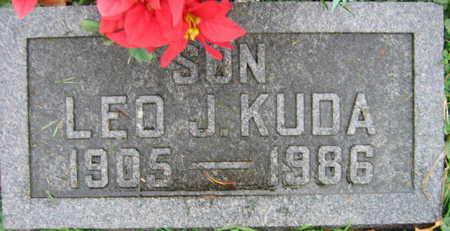 KUDA, LEO J. - Linn County, Iowa | LEO J. KUDA