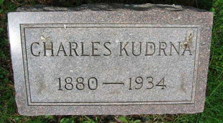 KUDRNA, CHARLES - Linn County, Iowa | CHARLES KUDRNA