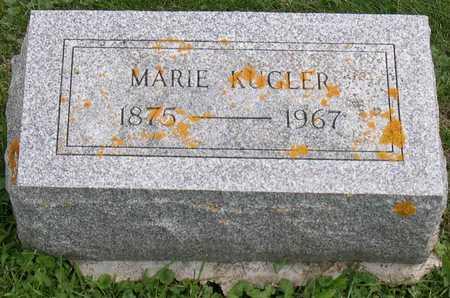 KUGLER, MARIE - Linn County, Iowa | MARIE KUGLER