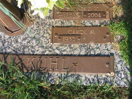KUHL, RICHARD V. - Linn County, Iowa | RICHARD V. KUHL