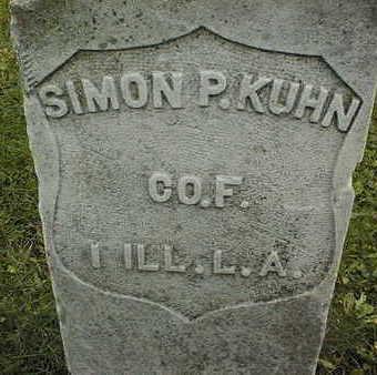 KUHN, SIMON P. - Linn County, Iowa   SIMON P. KUHN