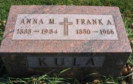 KULA, FRANK A. - Linn County, Iowa | FRANK A. KULA