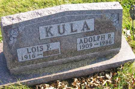 KULA, ADOLPH R. - Linn County, Iowa | ADOLPH R. KULA