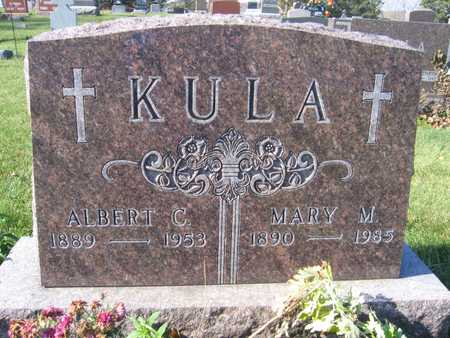 KULA, ALBERT C. - Linn County, Iowa | ALBERT C. KULA