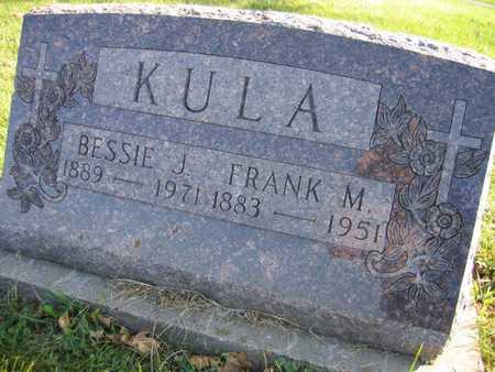 KULA, FRANK M. - Linn County, Iowa   FRANK M. KULA