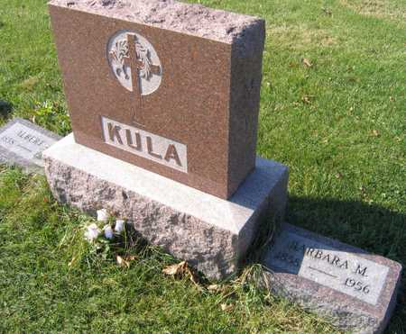 KULA, BARBARA M. - Linn County, Iowa | BARBARA M. KULA