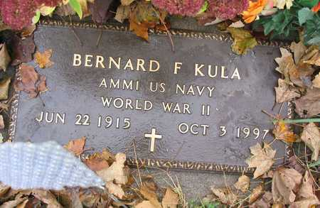 KULA, BERNARD F. - Linn County, Iowa | BERNARD F. KULA
