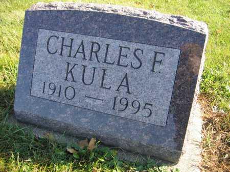 KULA, CHARLES F. - Linn County, Iowa | CHARLES F. KULA