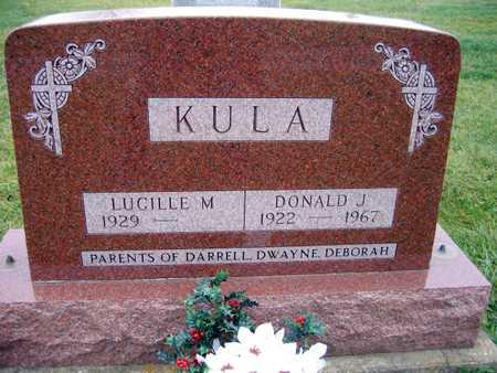 KULA, DONALD J. - Linn County, Iowa   DONALD J. KULA
