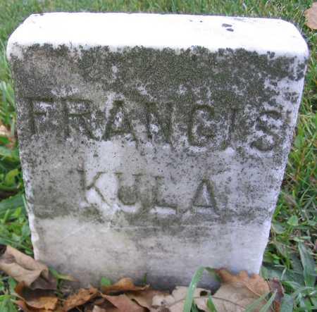 KULA, FRANCIS - Linn County, Iowa | FRANCIS KULA
