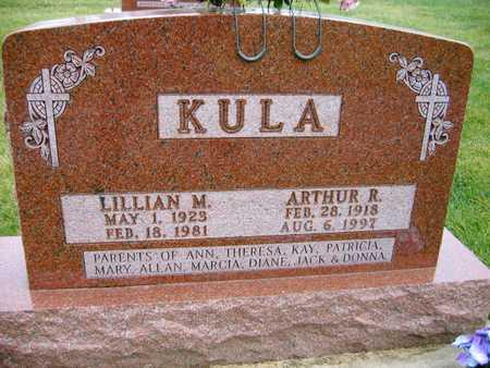 KULA, LILLIAN M. - Linn County, Iowa | LILLIAN M. KULA