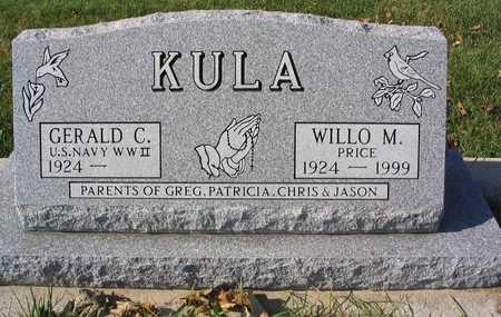 PRICE KULA, WILLO M. - Linn County, Iowa   WILLO M. PRICE KULA
