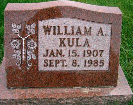 KULA, WILLIAM A. - Linn County, Iowa | WILLIAM A. KULA