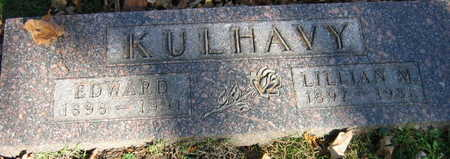 KULHAVY, EDWARD - Linn County, Iowa   EDWARD KULHAVY