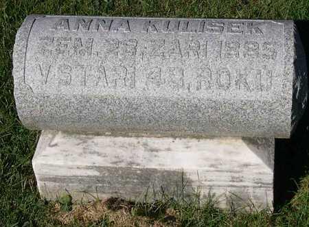 KULISEK, ANNA - Linn County, Iowa | ANNA KULISEK