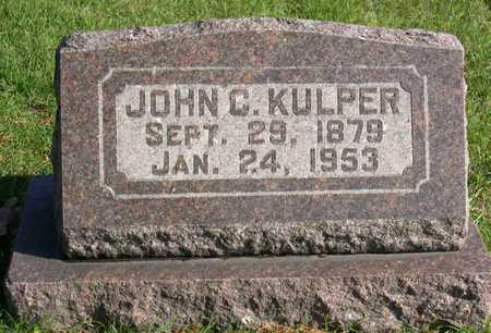 KULPER, JOHN C. - Linn County, Iowa | JOHN C. KULPER