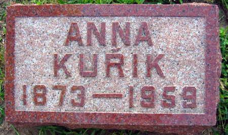 KURIK, ANNA - Linn County, Iowa | ANNA KURIK
