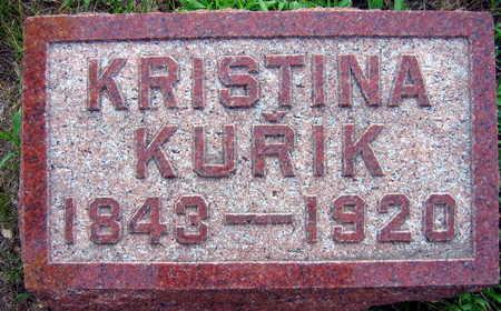 KURIK, KRISTINA - Linn County, Iowa | KRISTINA KURIK