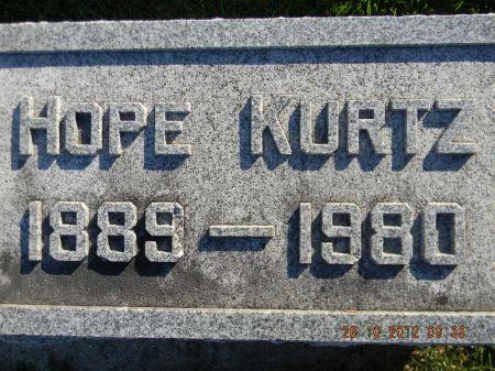 KURTZ, HOPE - Linn County, Iowa | HOPE KURTZ