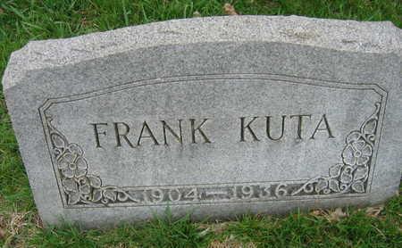 KUTA, FRANK - Linn County, Iowa   FRANK KUTA