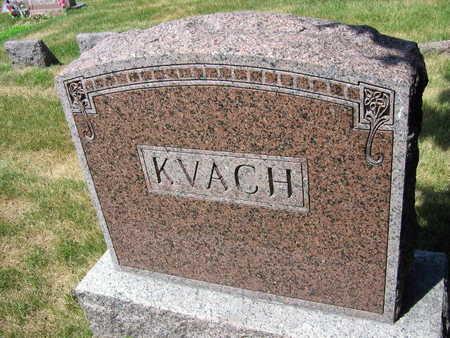 KVACH, FAMILY STONE - Linn County, Iowa | FAMILY STONE KVACH