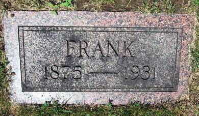 KVACH, FRANK - Linn County, Iowa   FRANK KVACH