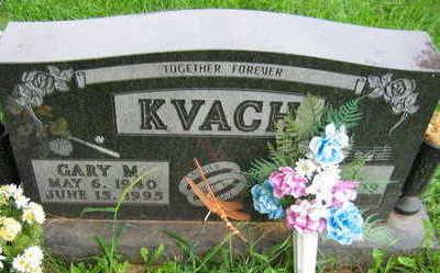 KVACH, GARY M. - Linn County, Iowa   GARY M. KVACH