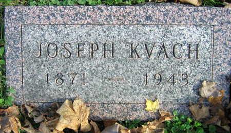 KVACH, JOSEPH - Linn County, Iowa | JOSEPH KVACH